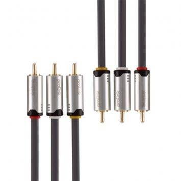 สายโปรลิงค์ คอมโพสิท (Composite) 3*RCA -> 3*RCA - 3 เมตร