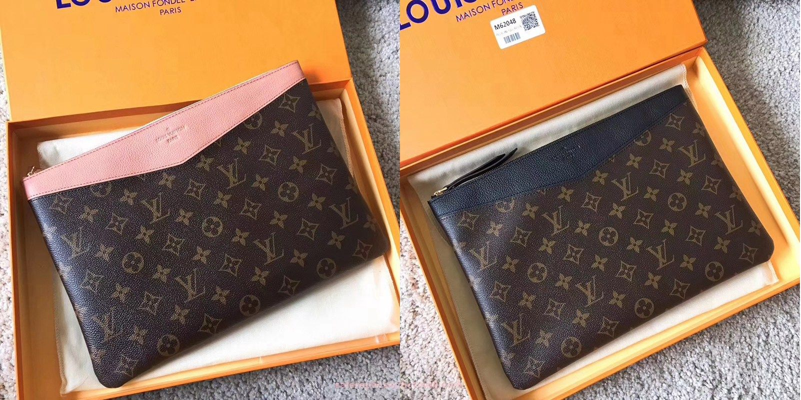 ecdf6e488b Louis Vuitton Daily Pouch | Luxury Clutches in 2019 | Louis vuitton ...