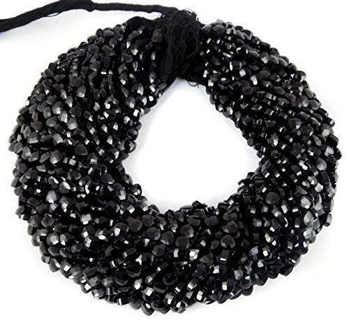 """Black Spinel Gemstone 2mm Rondelle Faceted Beads 12.5/"""" 1-10 Loose Strand NB02-15"""