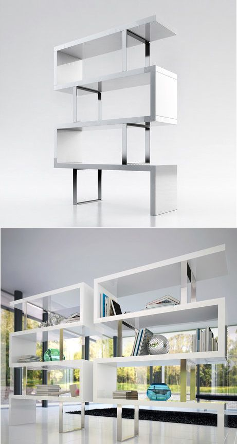 the pearl bookcase by ted toledano adds a modern edge to on simple effective and easy diy shelves decorations ideas the way of appearance of any space id=87503