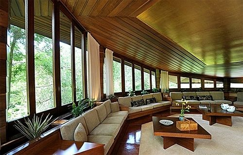 Octagonal Living Room Buehler House Orinda Ca Frank Lloyd Wright 1948 The Living Room Is Rightly H Mid Century Modern House Home Frank Lloyd Wright Design Decorate octagon shaped living room