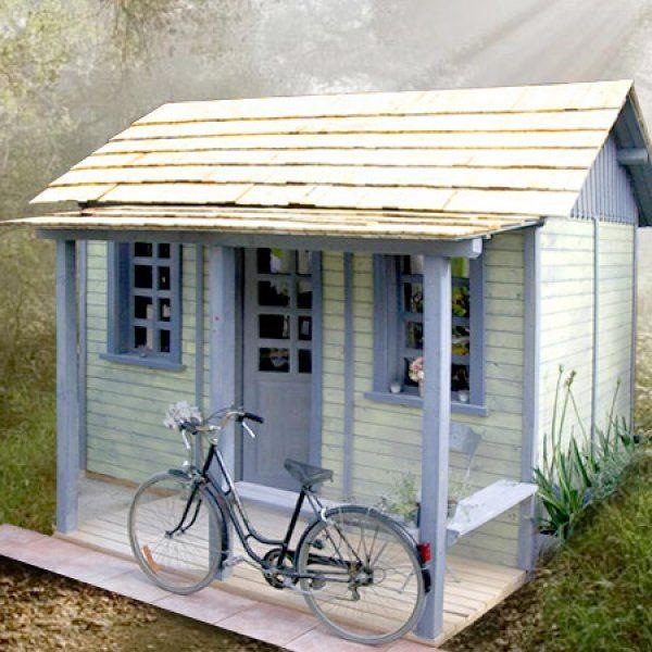 Une cabane comme un atelier - Marie Claire Maison   garage ...