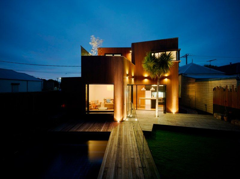 Barlow house maynard architects australia deck