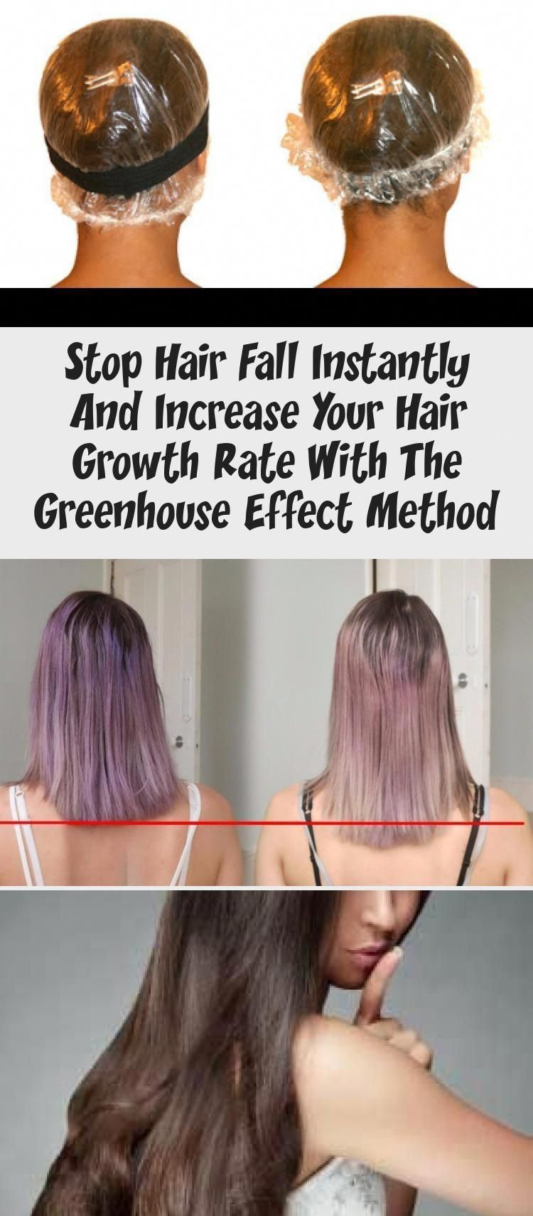 Stop Hair Fall Instantly And Increase Your Hair Growth Rate With The Greenhouse Effect Method#effect #fall #greenhouse #growth #hair #increase #instantly #method #rate #stop #hairgrowthfaster