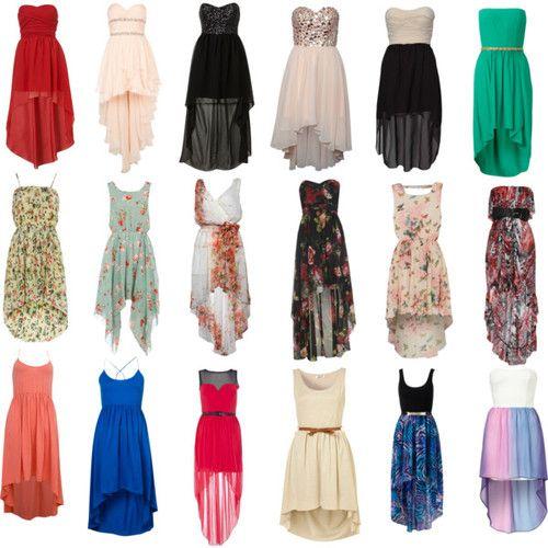 high low hem dress - Google Search   dream wardrobe: *   Pinterest ...