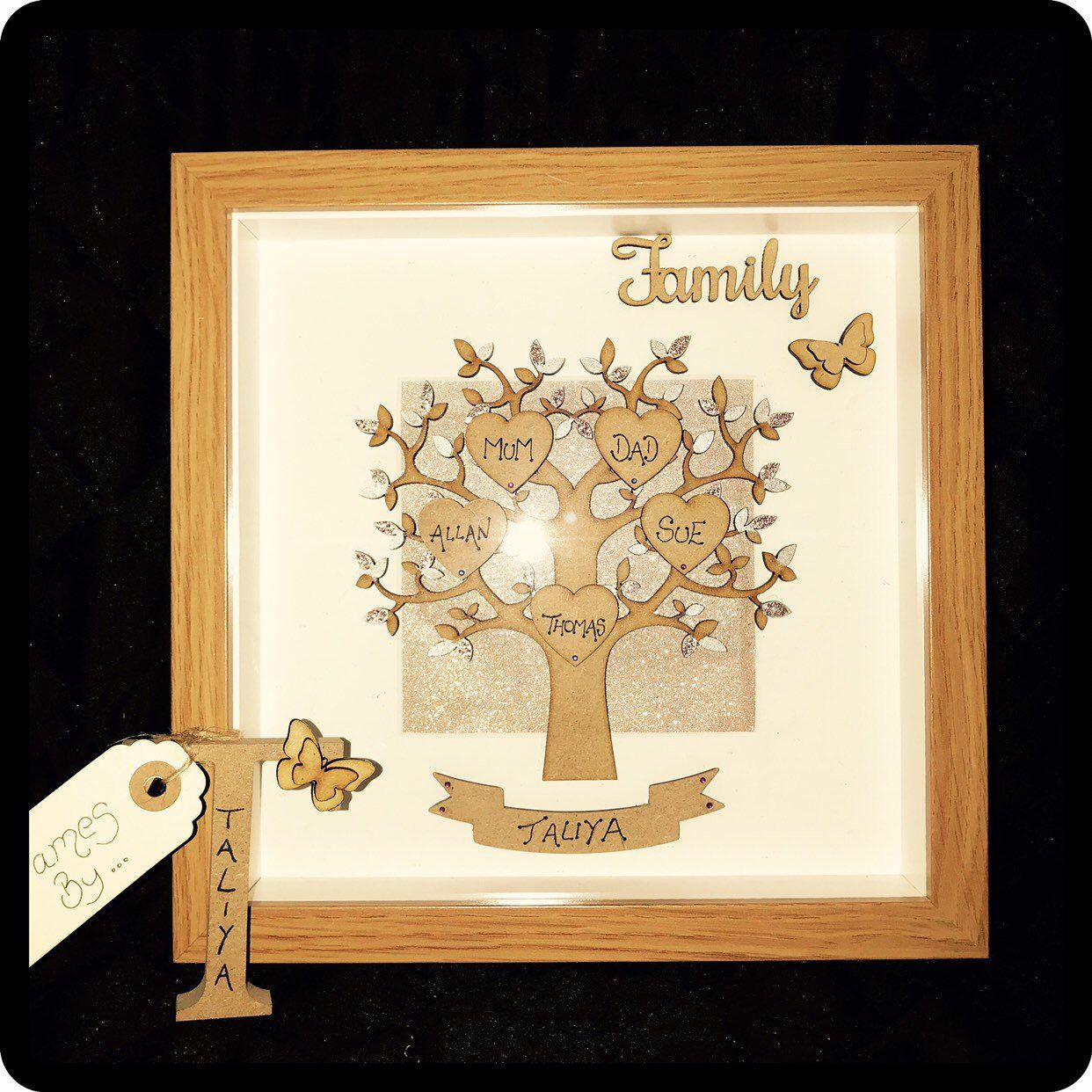 Personalised Frame Family Personalised Frames Frame Personalized Photo Frames