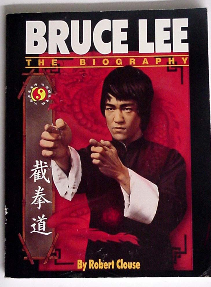 Bruce Lee the Biography by Robert Clouse $14.95