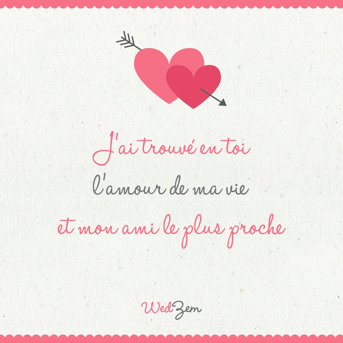 Jai Trouvé En Toi Lamour De Ma Vie Et Mon Ami Le Plus