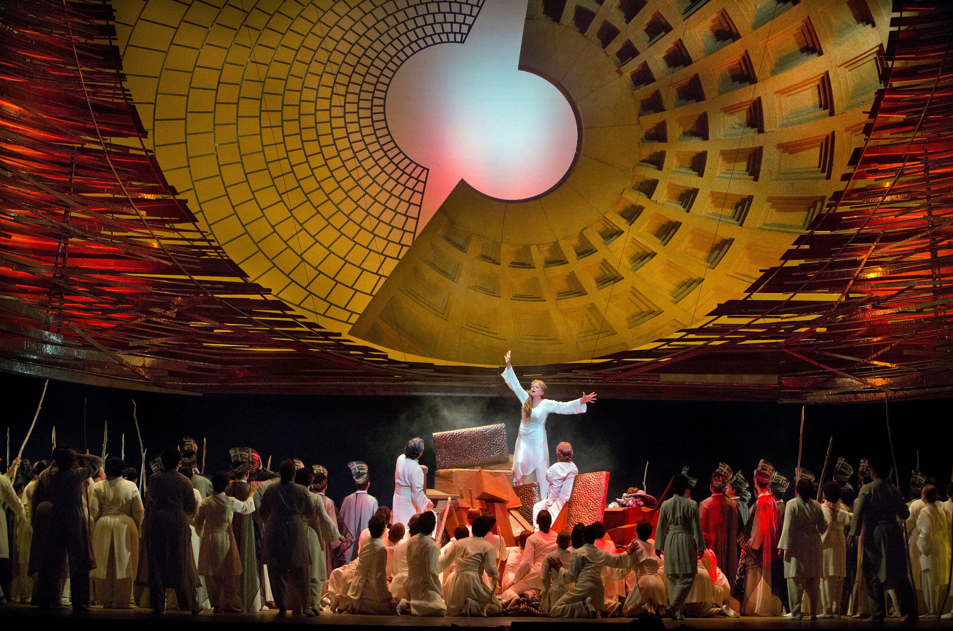 Es Devlin Les Troyens at Met Stage Design