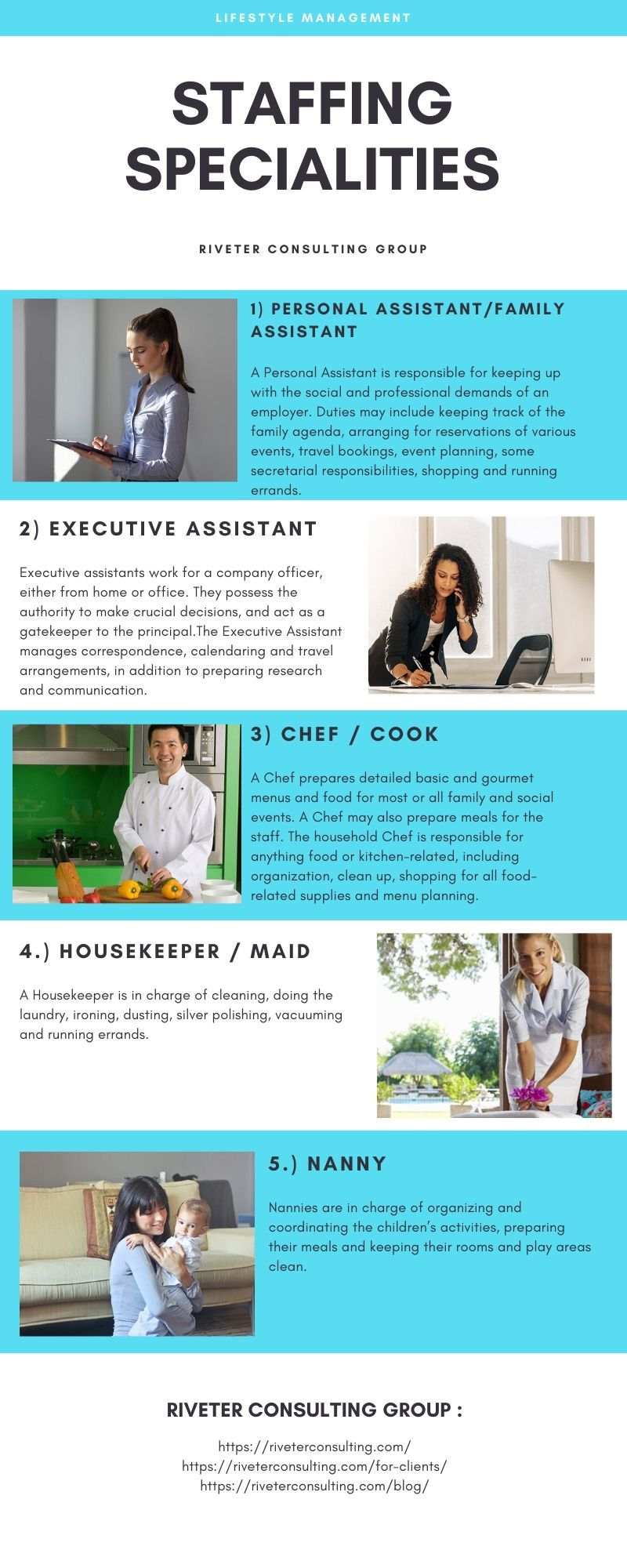 Riveter Consulting Group Staffing Agency Los Angeles Ca Staffing Agency Temporary Jobs Household Management