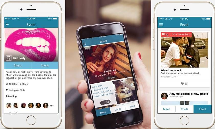 Lesbian Dating App Offers Something Awesome That Tinder