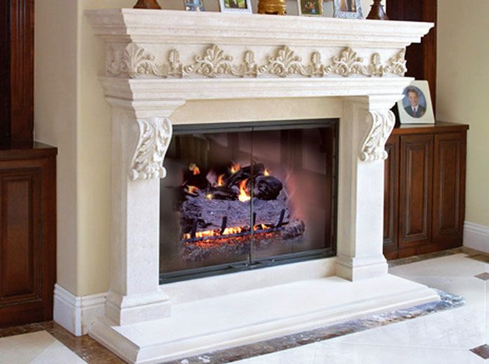cast stone fireplace surrounds and mantels versailles