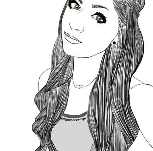 Pin De Janaina Silva Em Pra Colori Desenhos Tumblr E Look