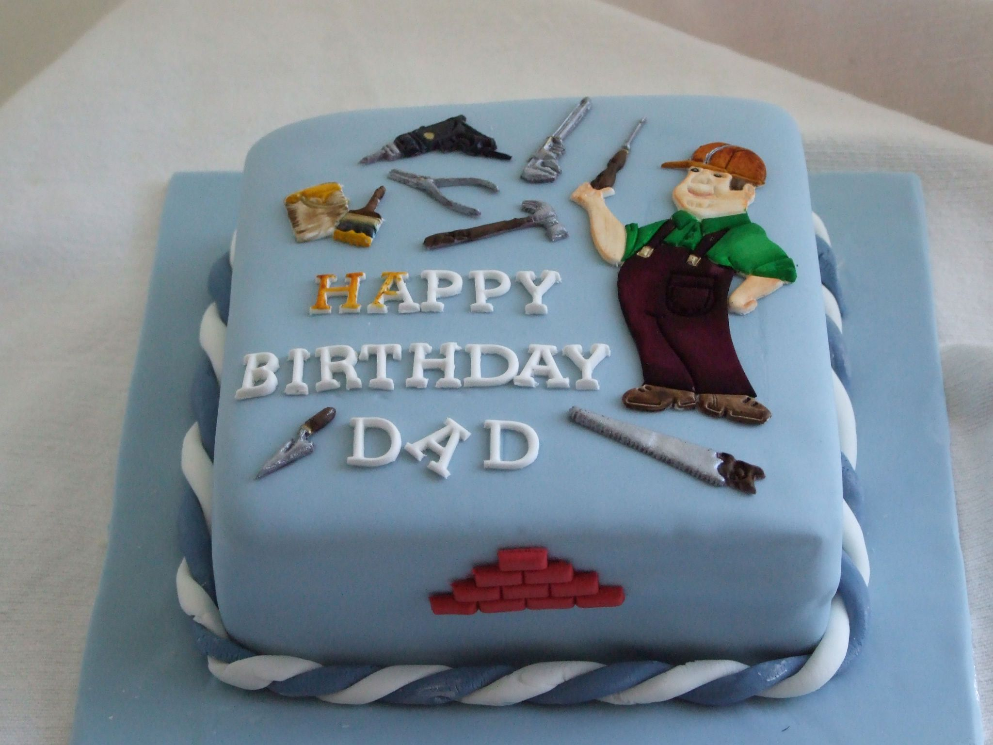 Happy Birthday Cake For Dad Awesome Ideas On Gallery Design