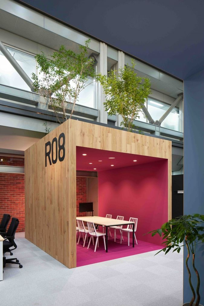 Raksul offices tokyo pinterest b rom bel for Design in a box interior design