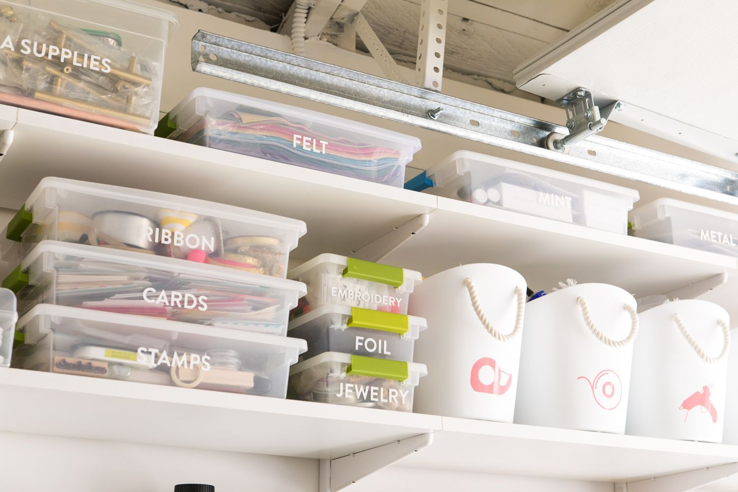 Garage Into Home Studio and Office Reveal - Sarah Hearts#garage #hearts #home #office #reveal #sarah #studio