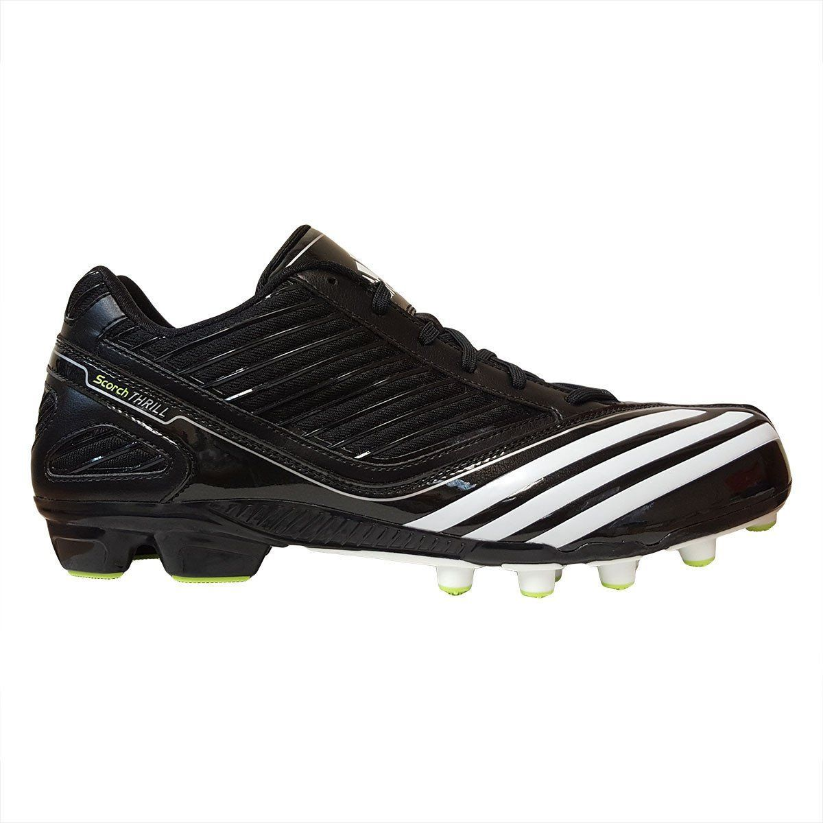 Adidas scorch thrill field turf low football cleats with