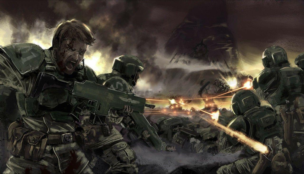 Imperial Guard | Warhammer 40000 | Space battles, 40k ...