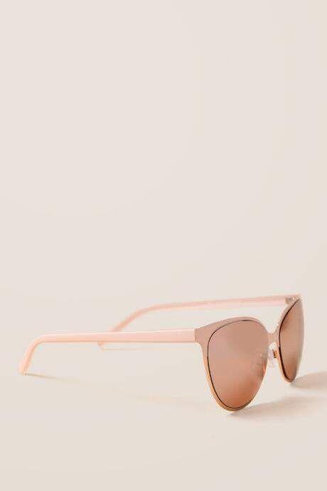 Sunset Blush Cat Eye Sunglasses Blush Sunglasses Feature Plastic Cat Eye Sunglasses Sunglasses Hair Jewelry