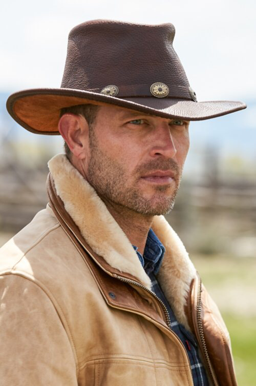 Raging Bull Leather Cowboy Hat | Overland | Leather cowboy hats, Mens  cowboy hats, Cowboy hats