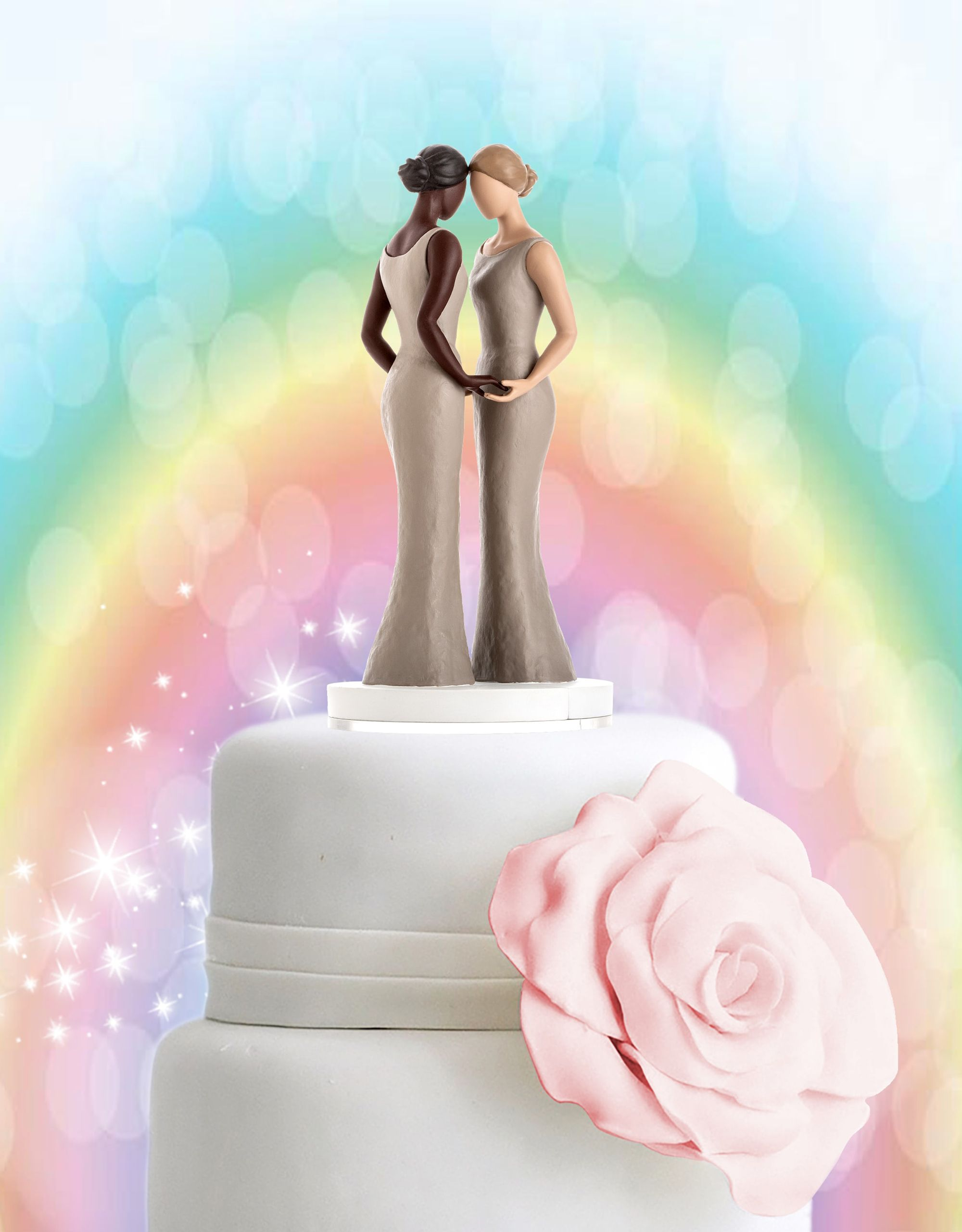 Stylish And Affordable Wedding Cake Toppers Mix And Match To
