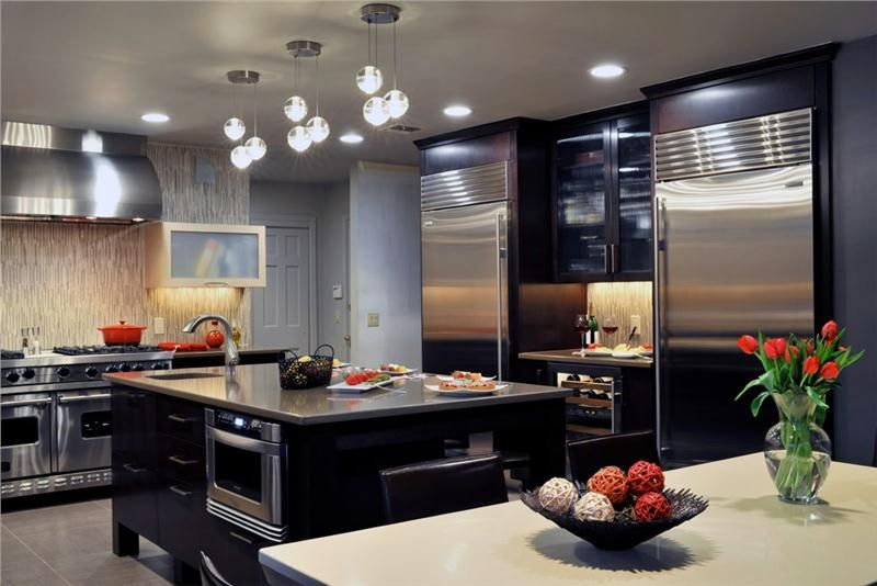 Elegant Contemporary Kitchen By Donald Hochheiser CR Of Kitchen Beauteous Kitchen Designs By Ken Kelly
