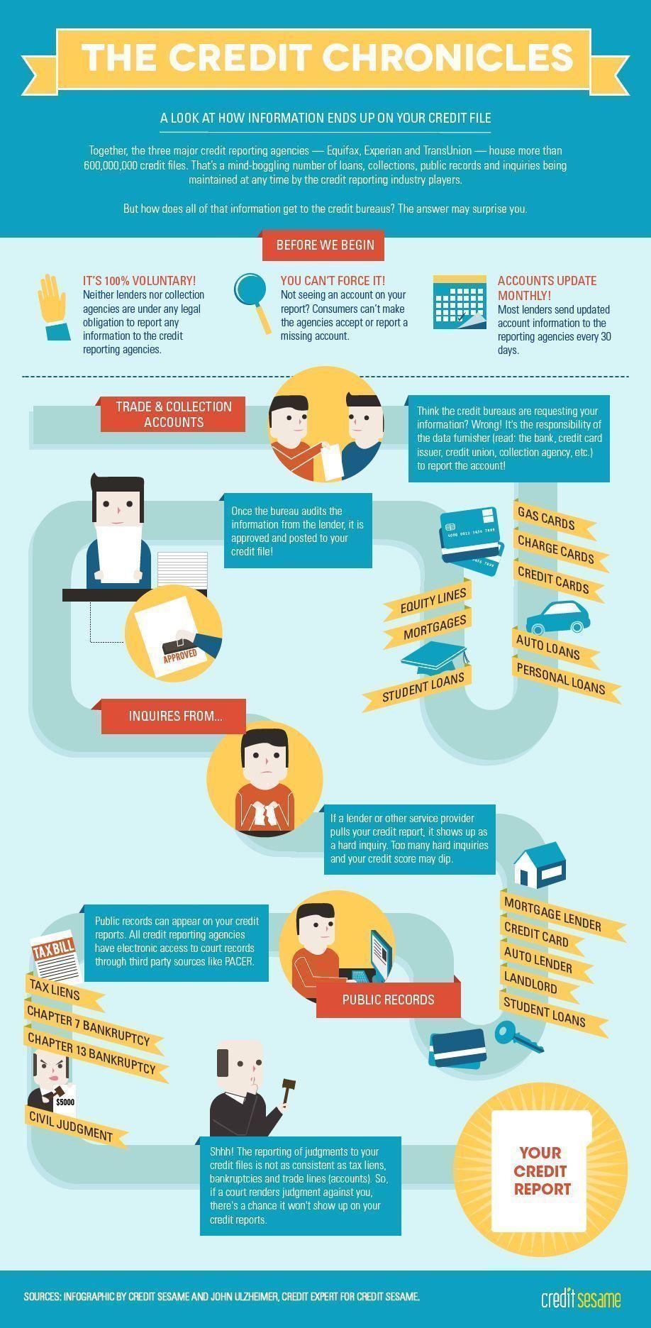 Credit Report Infographic Credit Repair SECRETS Exposed