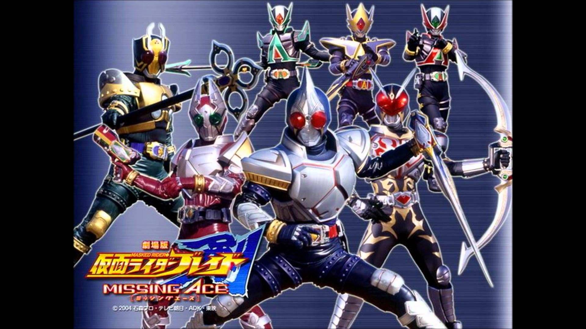 Kamen Rider Blade Ending 3 Take It A Try Kamen Rider Kamen Rider Series Rider