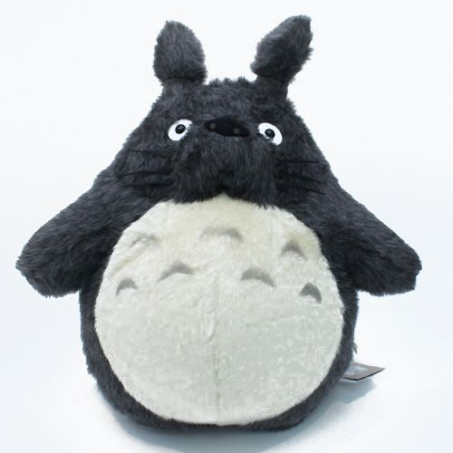 O Totoro Plush Dark Gray Ll Featured On Jzool Com