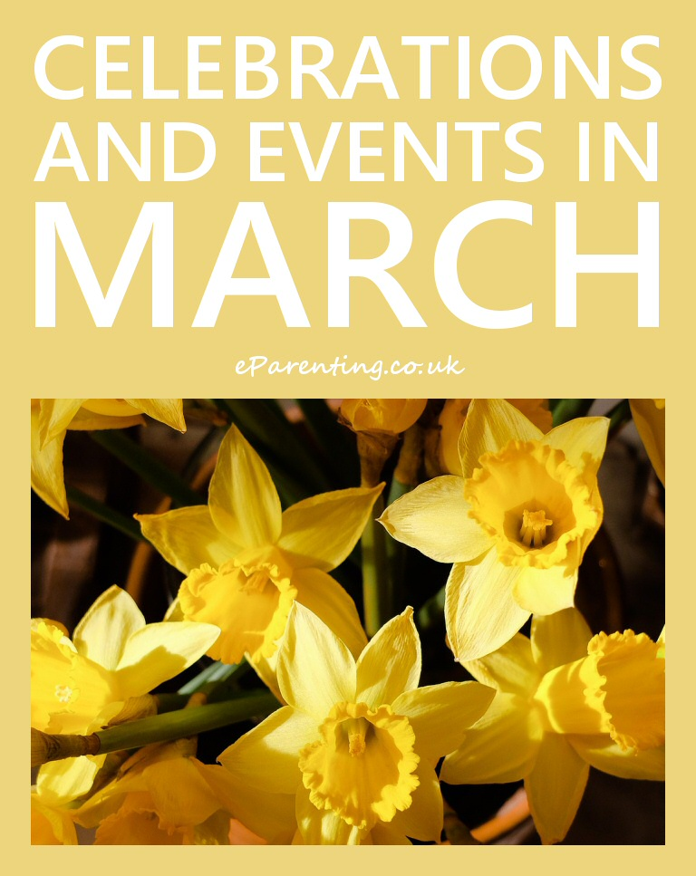 Celebrations And Events In March 2020 With Images Events In