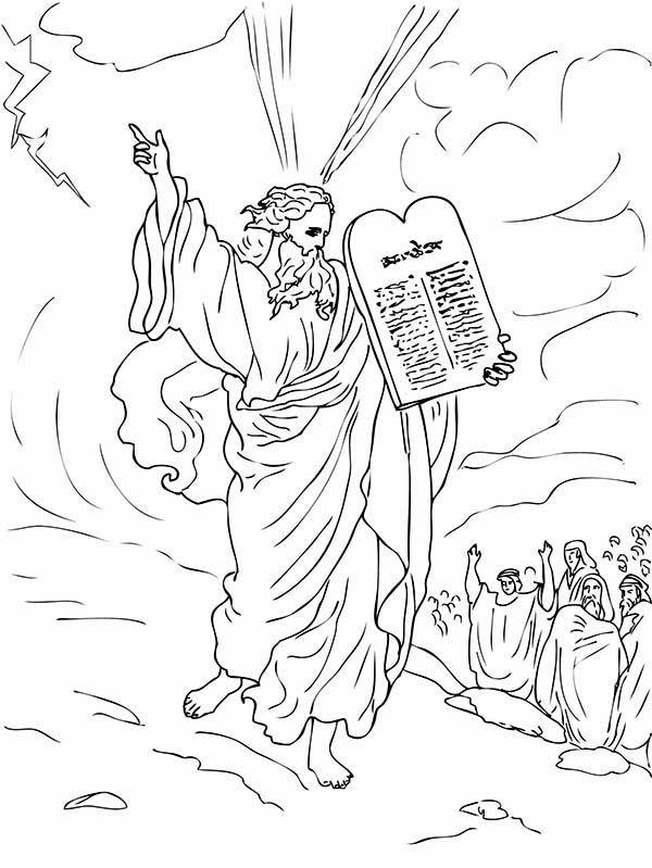 Ten Commandments Ten Commandments For Moses People
