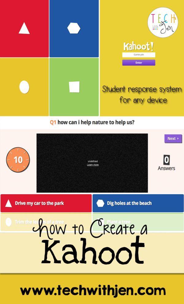 Kahoot Bright Idea For Interactive Student Responses Tech With Jen Teacher Technology Instructional Technology Classroom Tech