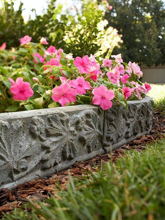 Schöne Gartendeko, originelle gartengestaltung - verwandeln sie beton in eine schöne, Design ideen