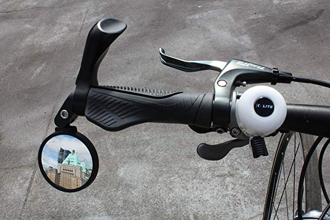 Amazon Com Hafny Bar End Bike Mirror Stainless Steel Mirror