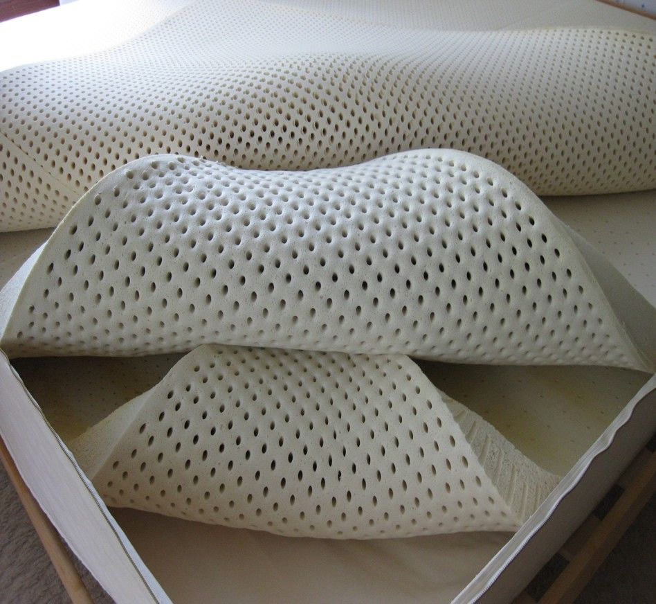 natural latex foam mattress latex mattress pinterest