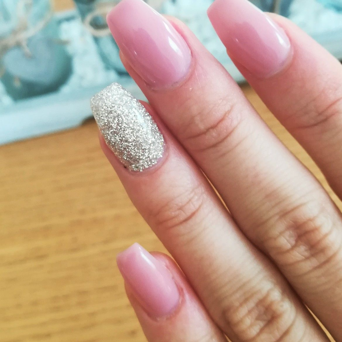 Rosa #naildesign #rose #rosa #glitzer #nagel #nägel #design #beauty ...