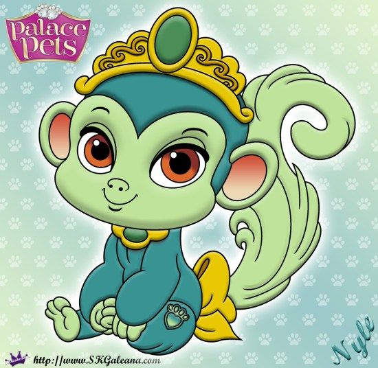 Free Princess Palace Pets Coloring Page Of Nyle Princess Palace Pets Palace Pets Disney Coloring Pages