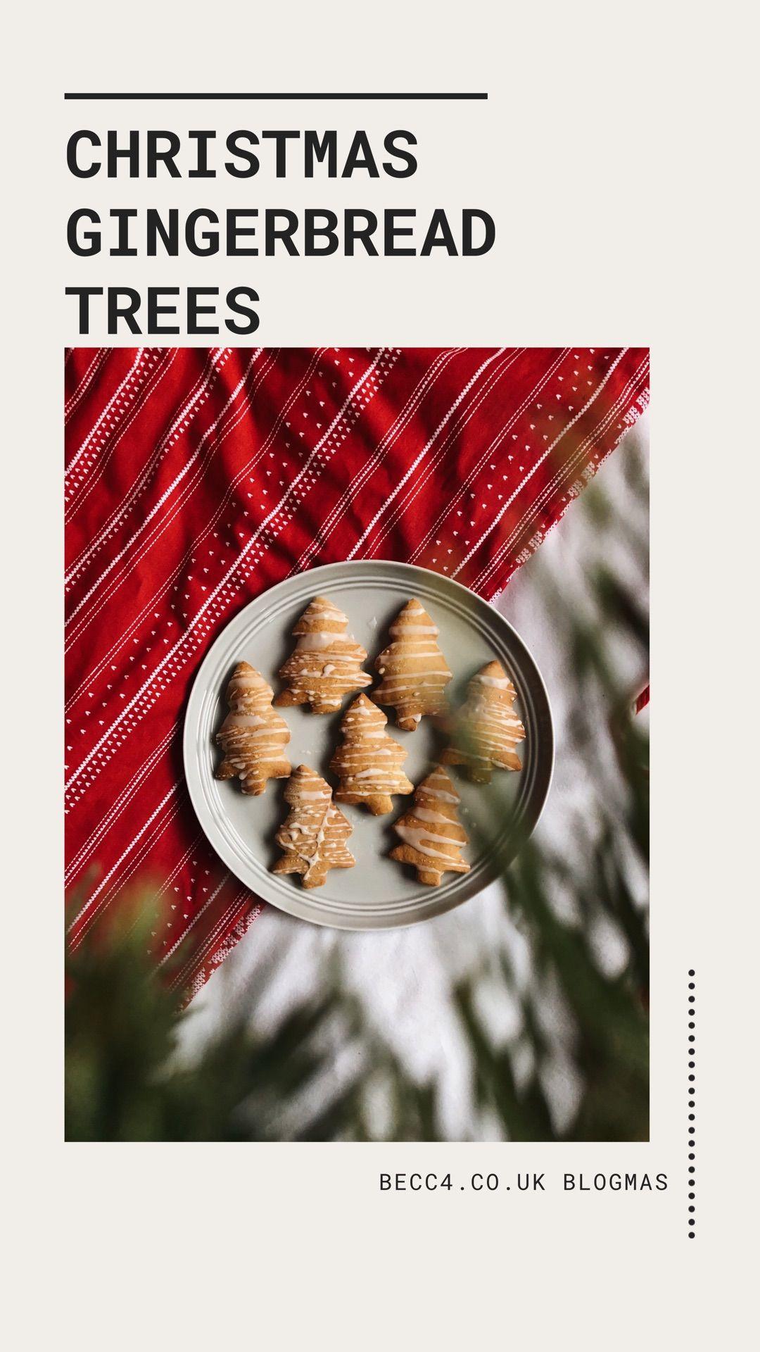 Christmas Gingerbread Trees Recipe Christmas tree food