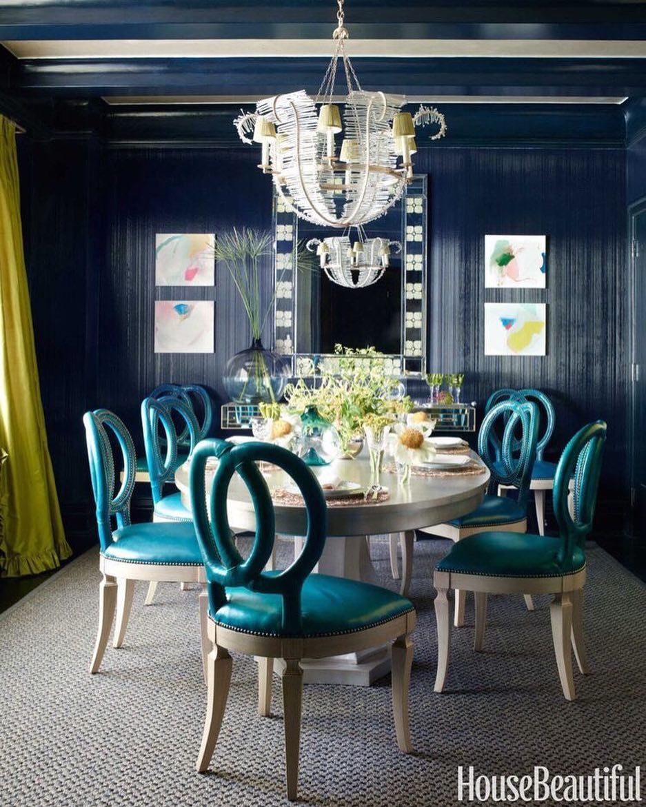 Dinner Celebrations In This Glamorous Dining Room Must Be