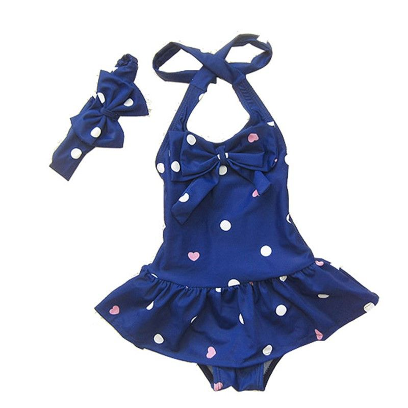 Young U Newborn Baby Girl One Pieces Swimsuit Casual Knitted Suspender Summer Beach Clothes