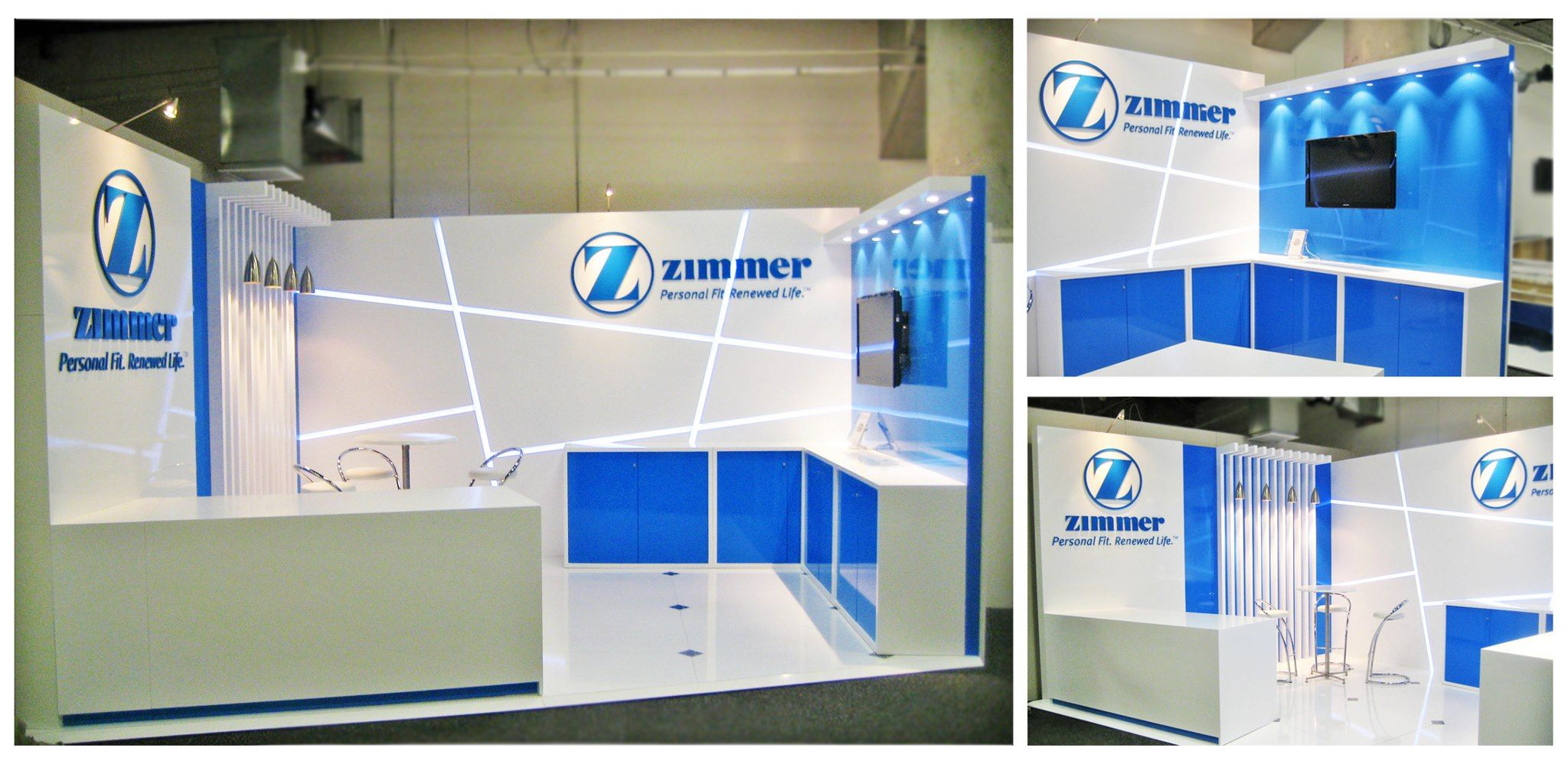 Exhibition Display Stands Nz : Zimmer trade display stand at nzoa designed and built