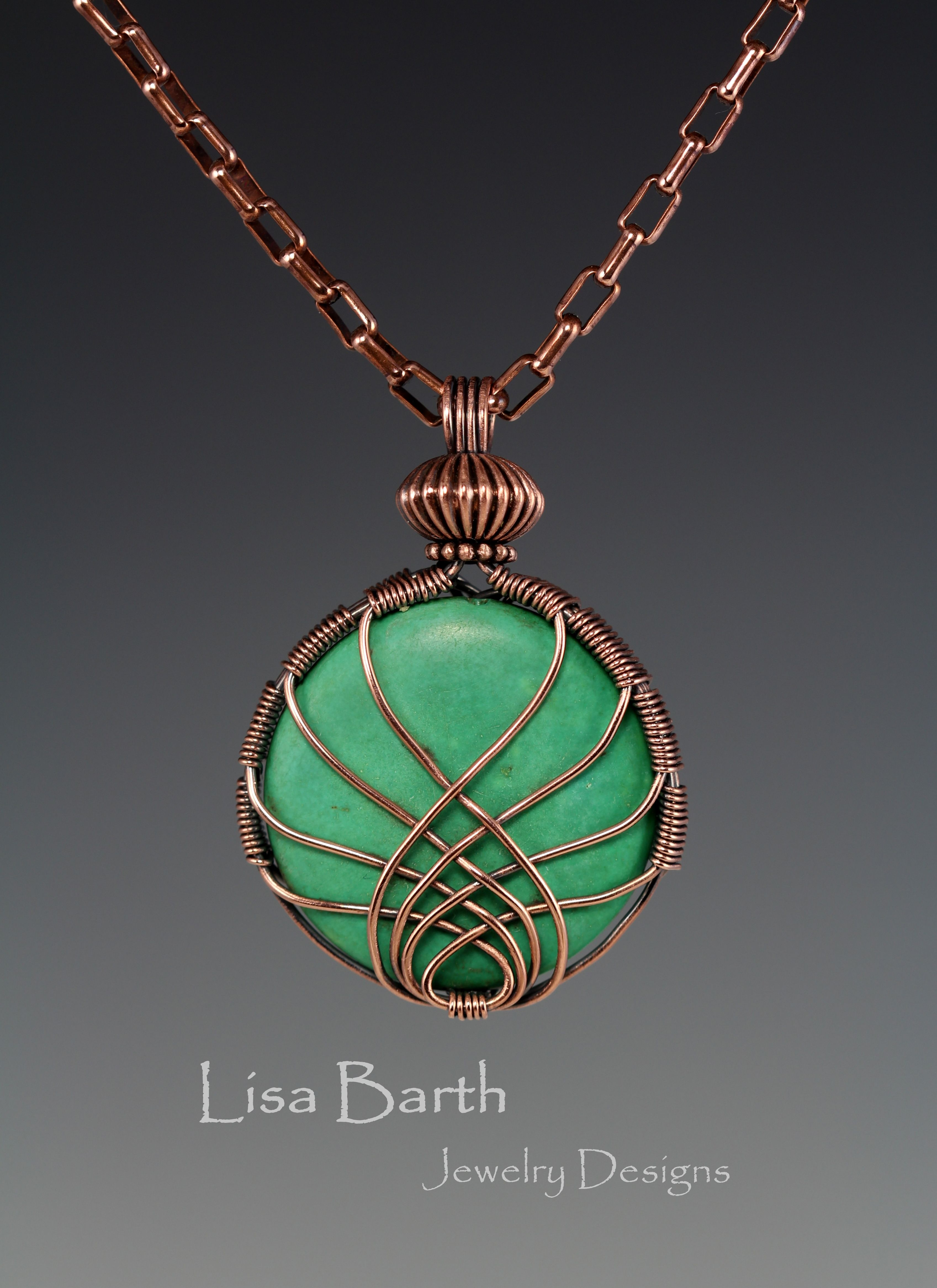 Here is a pendant I made one night just to blow off some steam. It ...