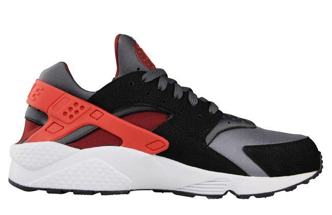 limitado guay Nike Huarache Gris Oscuro / Rojo Challenge / Pelo Negro colecciones en línea I0jb9ouHM