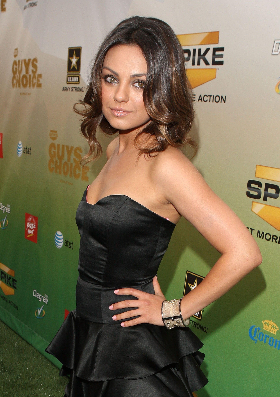 Celebrity Transformation: Mila Kunis images