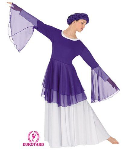Find this Pin and more on Praise Dance Wear. - 13860 Liturgical Dance Tunic Praise And Worship Dance Wear, Attire