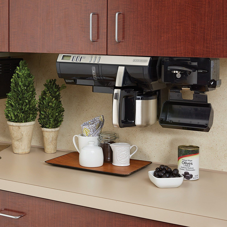 Black Decker Spacemaker Under The Cabinet 8 Cup Coffeemaker