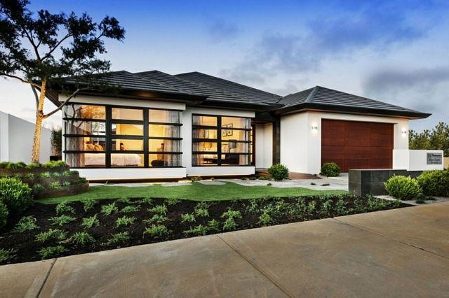 Maison à la japonaise en Australie - architecture moderne Architecture - Facade Maison Style Moderne