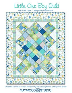 Little One Boy Quilt by Debbie Beaves using Little One Flannel Too ... : debbie beaves quilt patterns - Adamdwight.com
