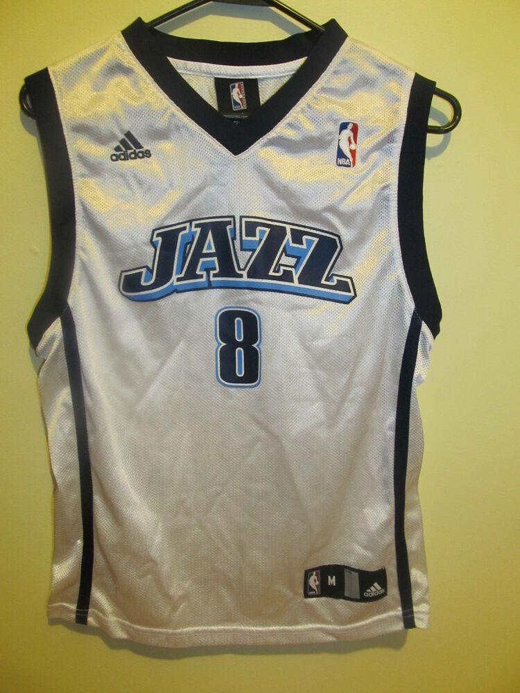 Deron Williams Utah Jazz Jersey Adidas Youth Medium Adidas Utahjazz Utah Jazz Deron Williams Jazz Basketball
