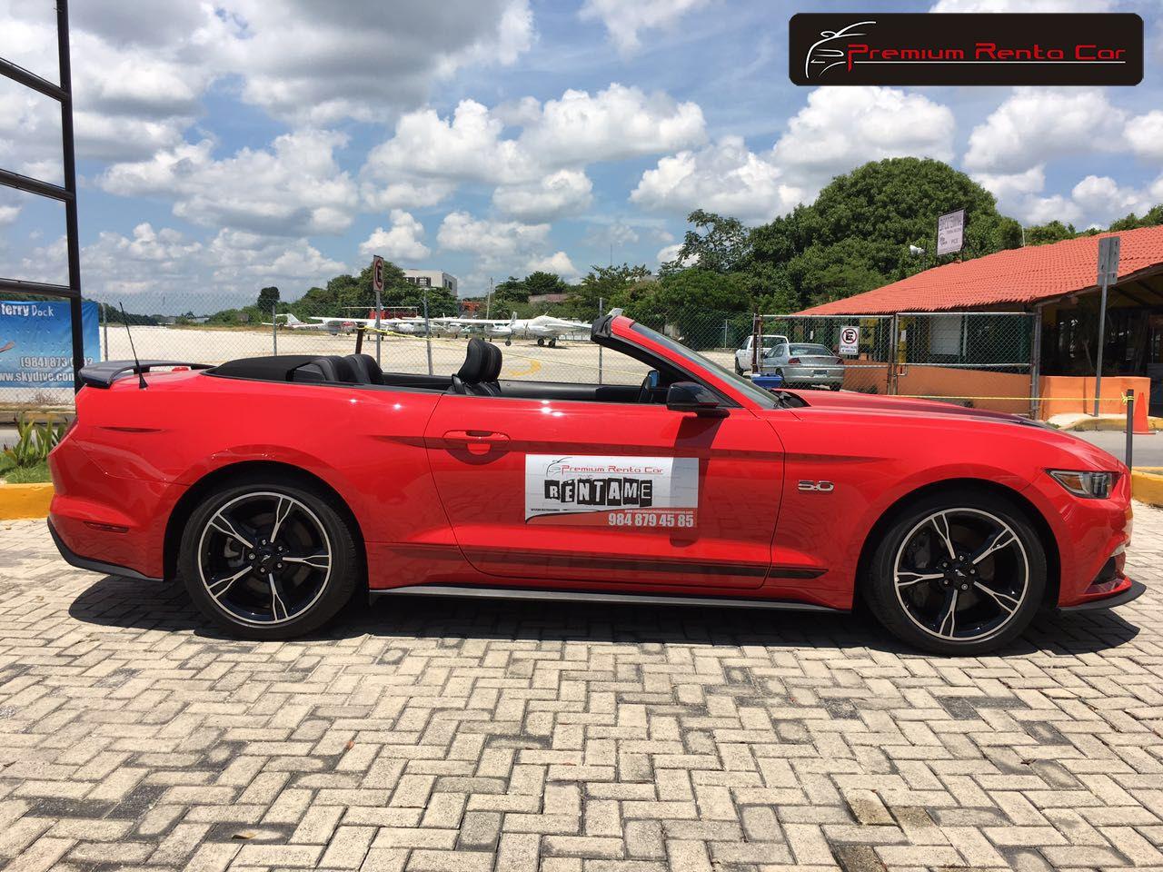 Ford mustang gt cs california special convertible 2016 color rojo racing